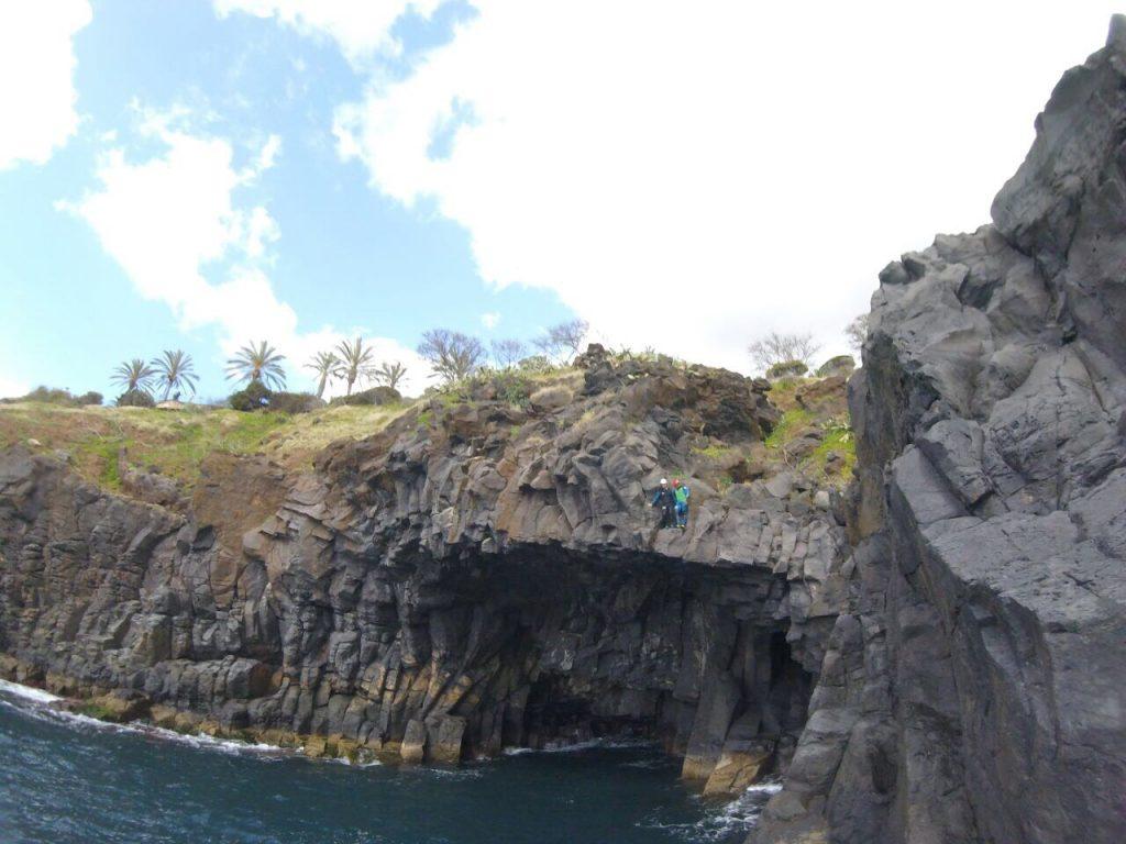 Coastering Madeira Island